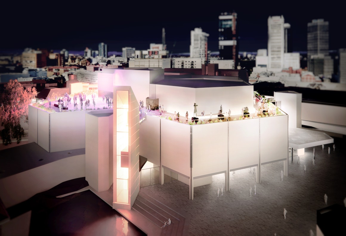 Artist Impression of AGWA With Elevate Rooftop