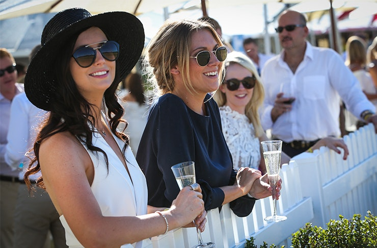 ICYMI, You Can Have Your Own Luxe Picnic Cabana At The Polo