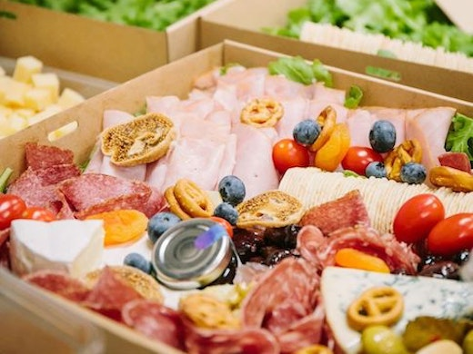 Charcuterie platter to go from Angelo Street Market