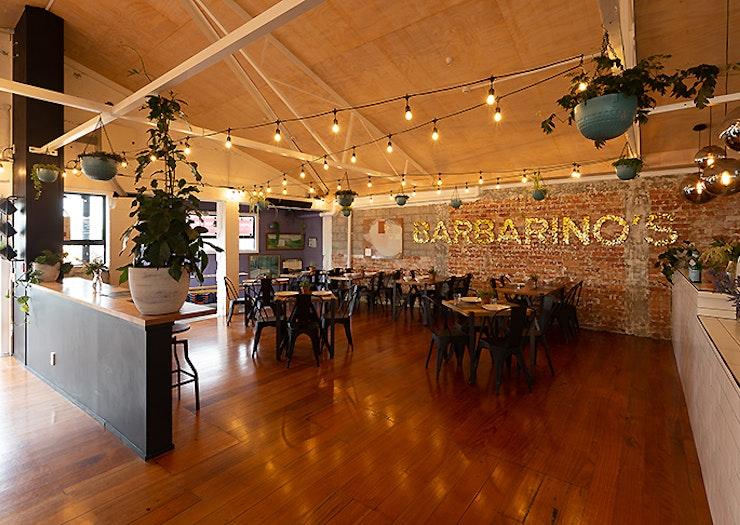 An inside view of Barbarino's Spaghetteria