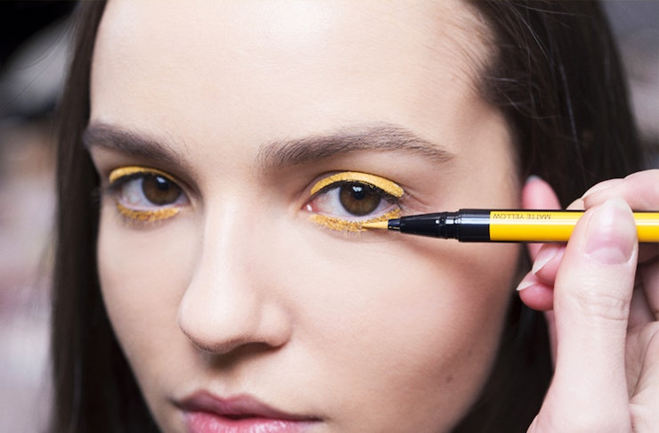 dior show, beauty trends