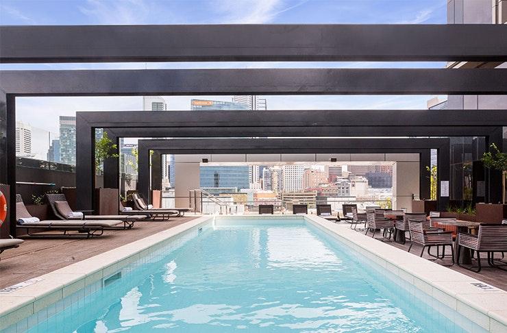 Best Hotel Pools Perth DoubleTree Northbridge