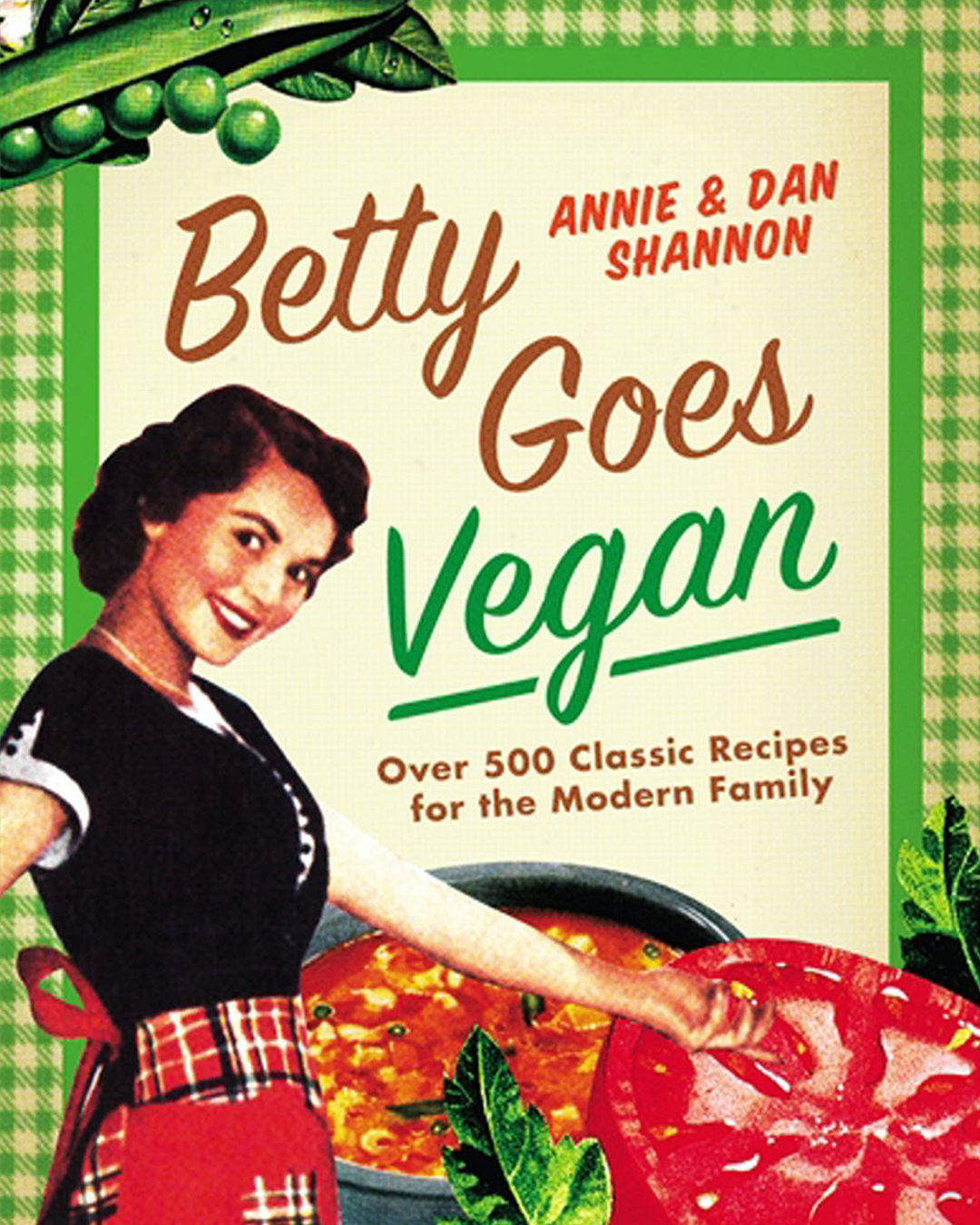 Betty Goes Vegan Cookbook Cover