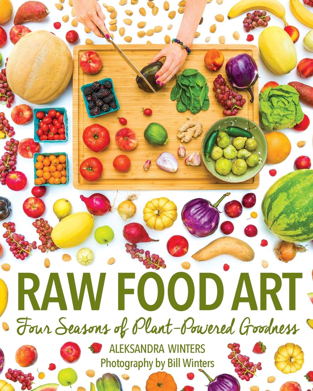 Raw Food Art Cookbook Cover