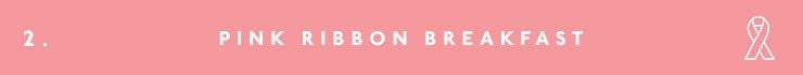 Pink Ribbon Breakfast, NBCF