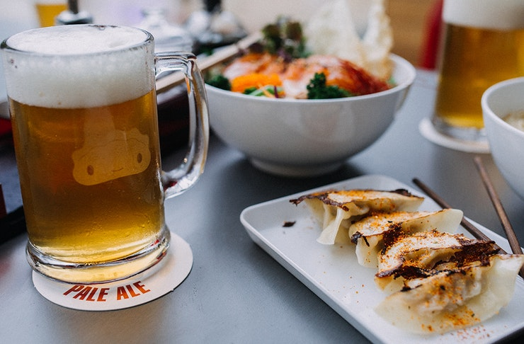craft beer and dumplings on the gold coast