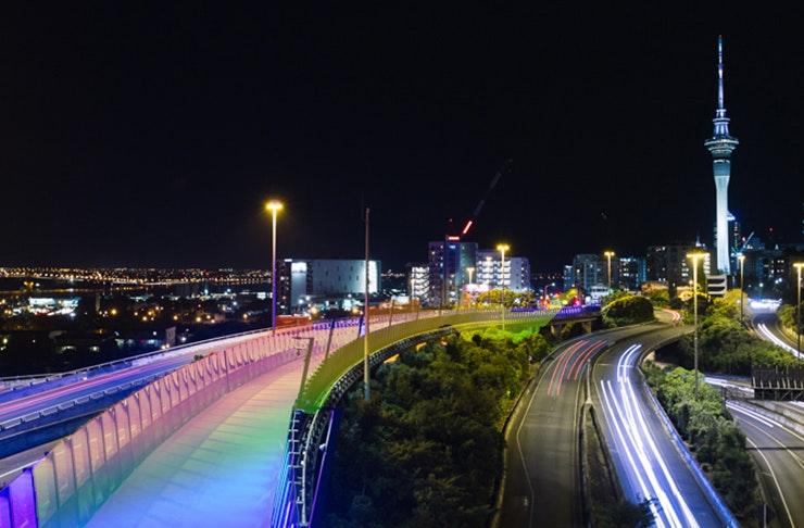 Auckland's Getting A Lightpath Festival