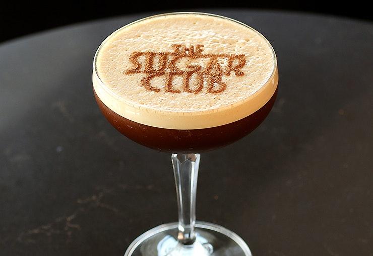 Espresso Martini at the Sugar Club