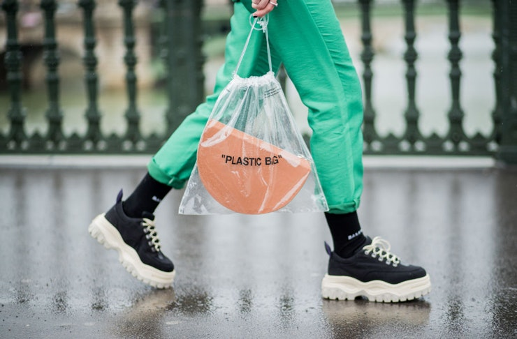 Plastic fashion trend | The Urban LIst