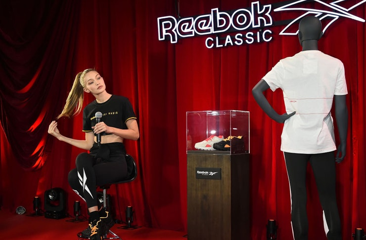 Gigi Hadid x Reebok | The Urban List