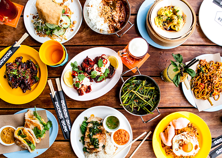 Set The Dining Table, You Can Now Get Chin Chin, Hawker Hall, Baby Pizza And Kisumé Delivered