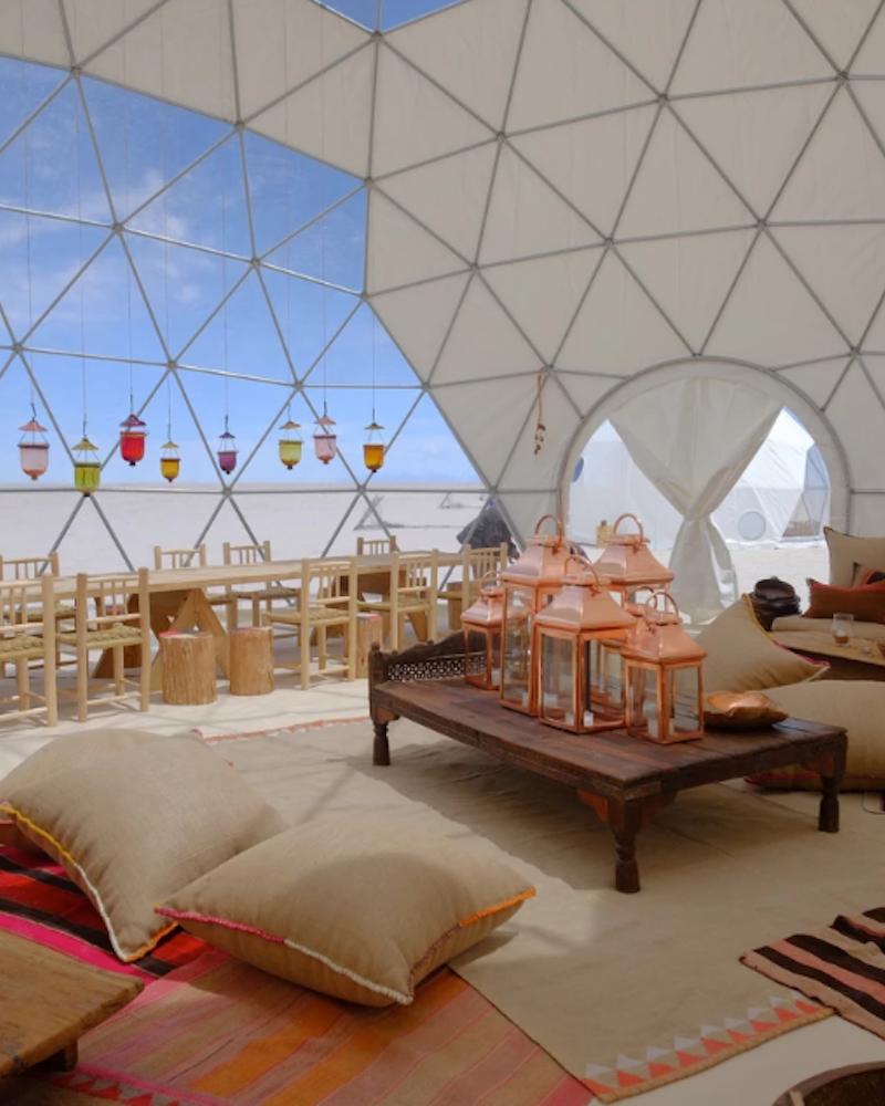 Glamping Bolivian Salt Flats Kachi Lodge