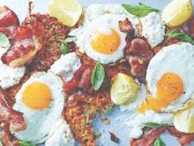 Luke Hines' Zucchini And Sweet Potato Breakfast Hash Recipe