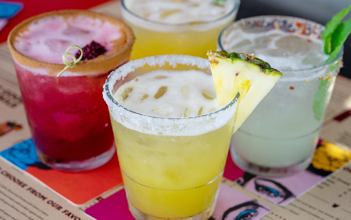 Pineapple, Tamarind and Tepache Fridas from Mexico