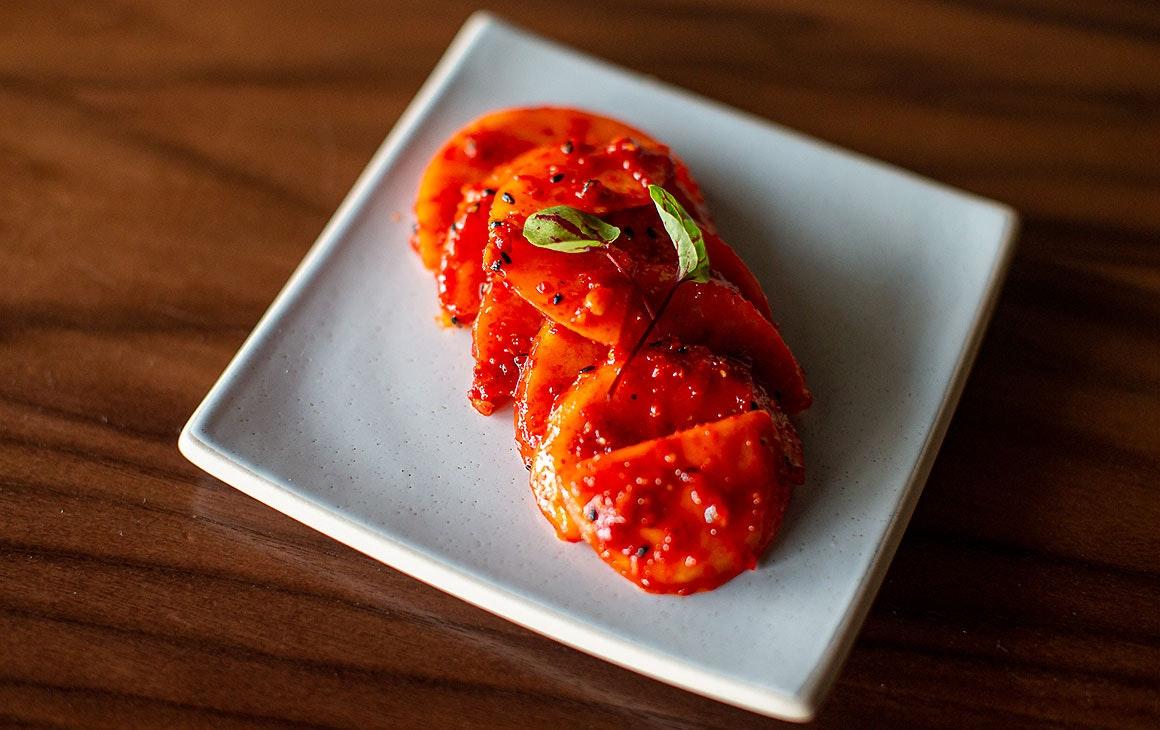 A delicious dish at Ockhee