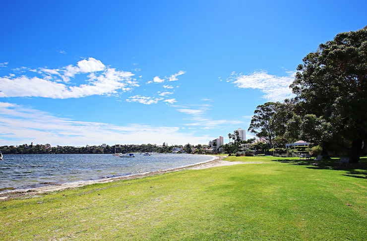 Mrs Herberts Park in Claremont, one of Perth's best picnic spots