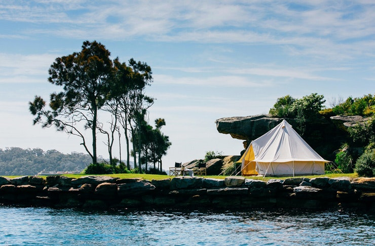 pop up hotel sydney harbour