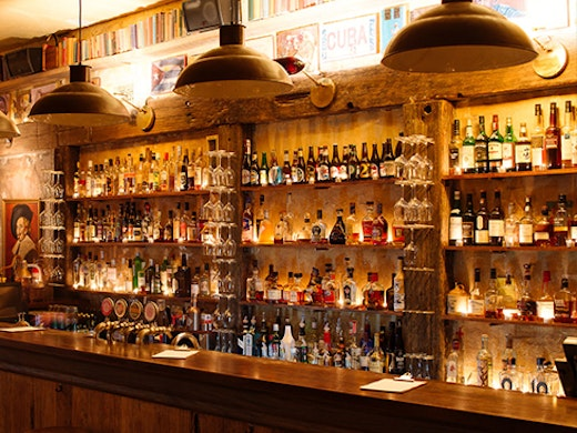 Racket is tucked away in a somewhat dingy lane, but don't let that sway you—it's an absolute gem and one of the best bars in Auckland.