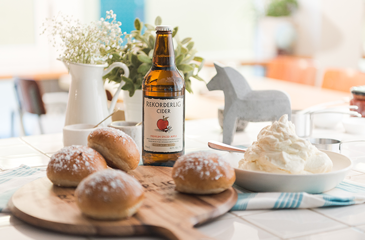 FIKA celebrations Rekorderlig