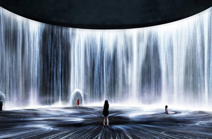 Transport Yourself To A Digital Water Universe At Shanghai's Newest Instagrammable Art Exhibition