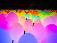 Get Yourself To This Dreamy Immersive Art Exhibition That Detects Human Movement