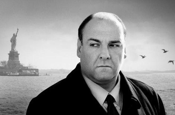 James Gandolfini as Tony Soprano in The Sopranos
