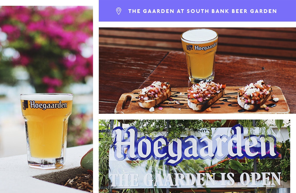 Hoegaarden, the Gaarden, South Bank Beer Garden