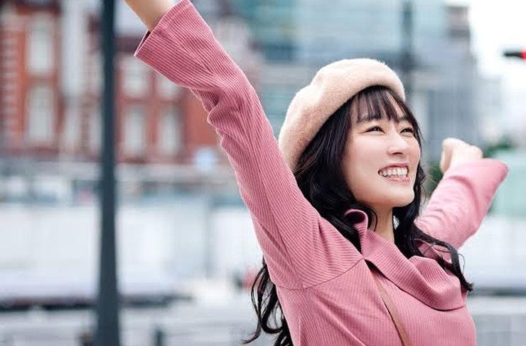 Asami Mizukawa wearing pink in Tokyo Girl