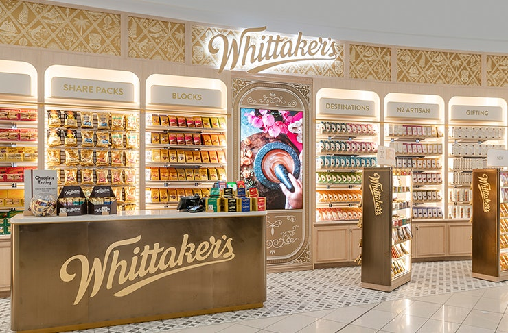 Whittaker's Have Opened An Entire Store Dedicated To Chocolate!
