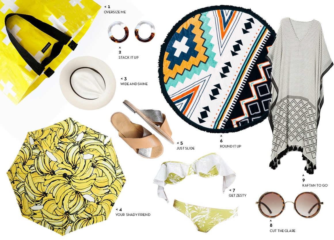 Beach bag must-haves