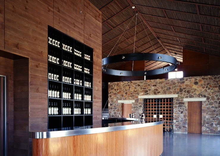 The interior of a QLD winery.