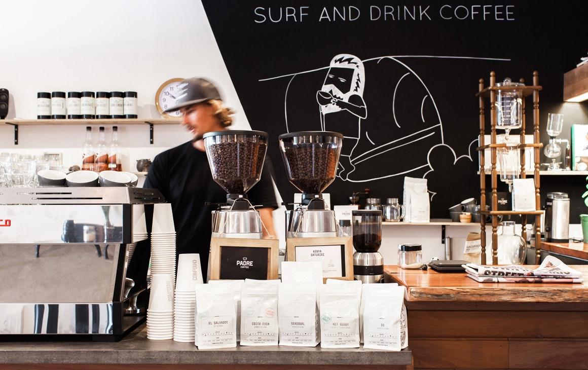 Surf and espresso bars sunshine coast