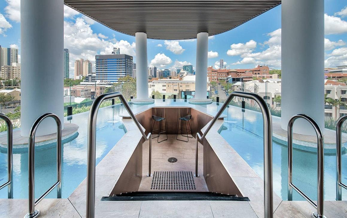 Rooftop Pool, One Of Brisbane's Best Airbnbs