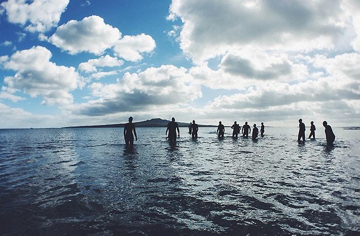 An Auckland Beach