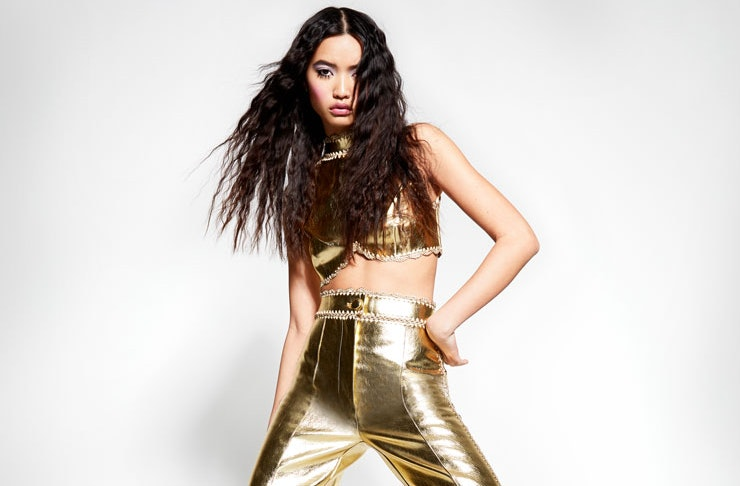 Models wear the Alice McCALL Go Liberty collection.