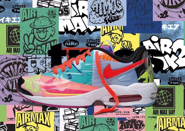Feast Your Eyes On The New Neon-Slashed Air Max By Atmos