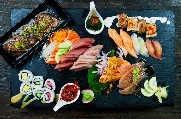 Auckland Has An All-You-Can-Eat Japanese Buffet!