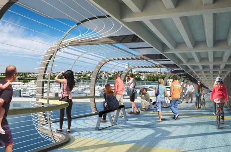 Auckland Is Getting A North Shore-To-City Walkway