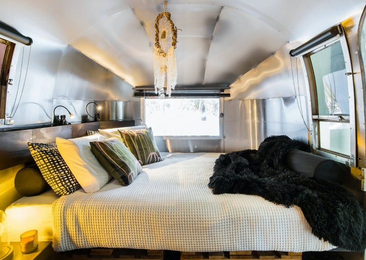 Book A Night In This Beachfront Airstream And Fall Asleep To The Sound Of The Ocean