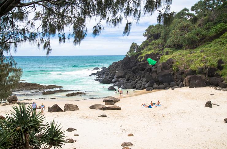 best beaches gold coast