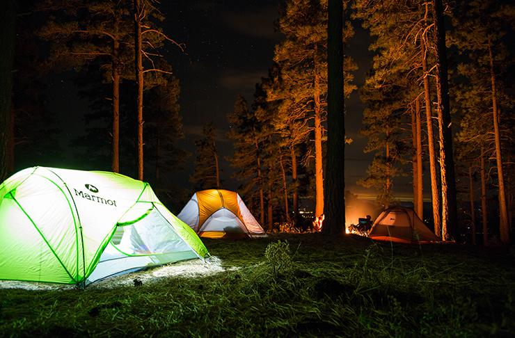 best camping spots brisbane