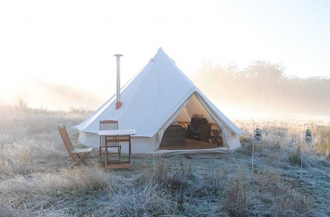 best-glamping-spots-victoria-cosy-tents