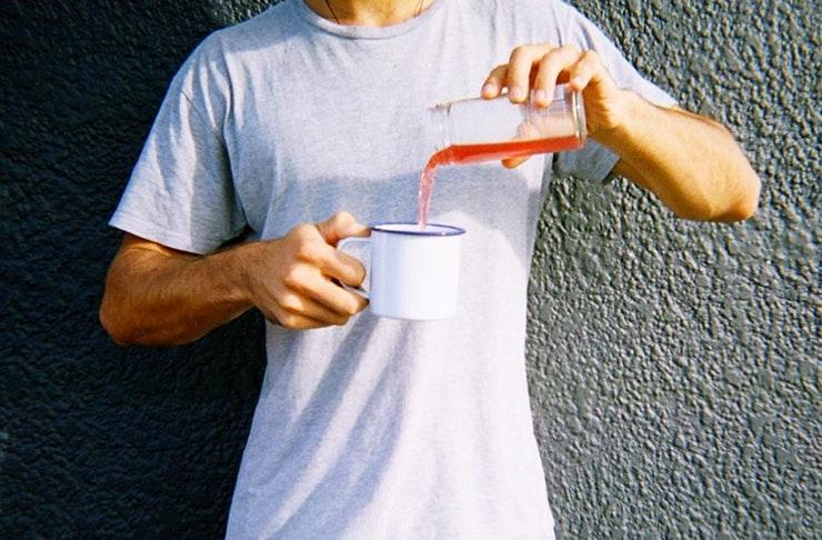 health drinks, healthy drinks, kombucha, lean water, tea