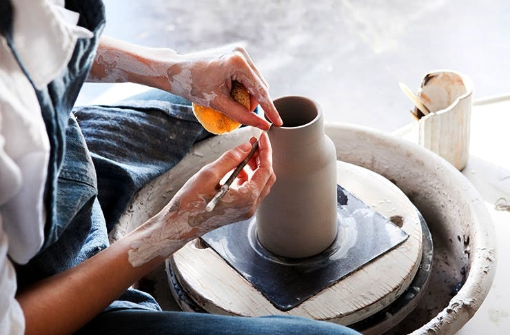 best pottery classes sunshine coast
