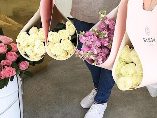 blush parnell, best florists auckland, wedding flowers auckland