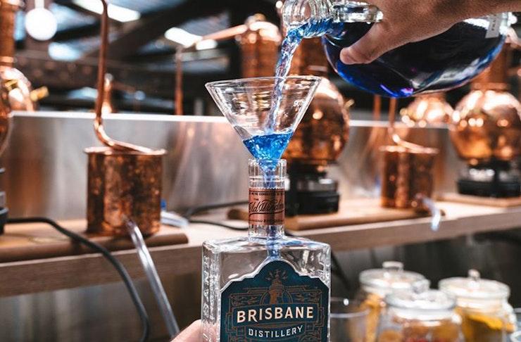 brisbane distillery hand sanitiser