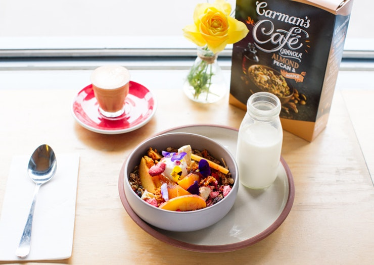 carmans cafe granola devon cafe