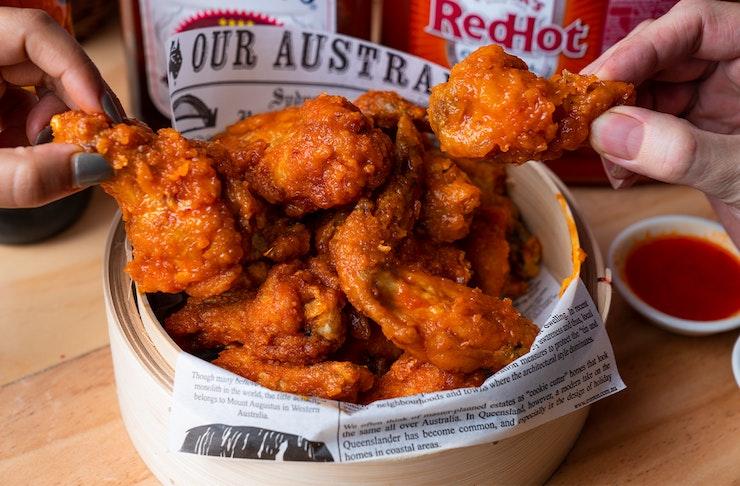Chook Wings And Beer