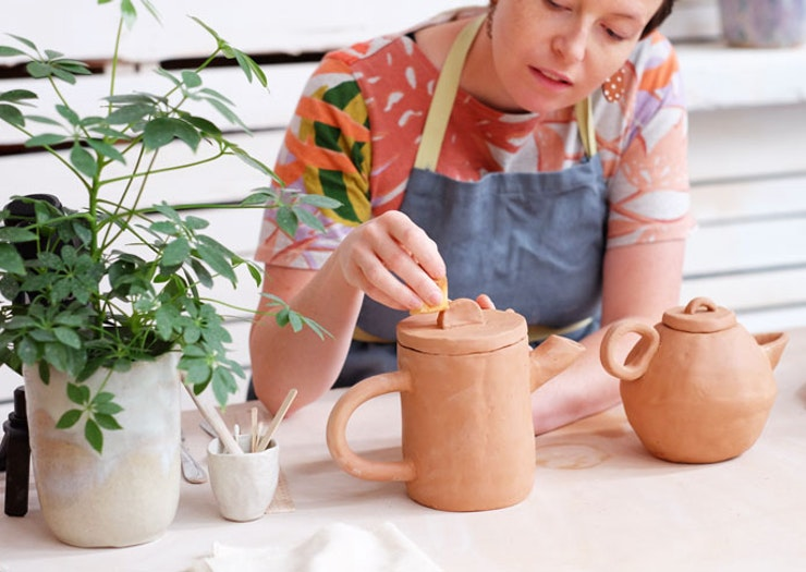 Keep The Creative Times Rolling, Clay Sydney Is Open For In-Studio Classes Again