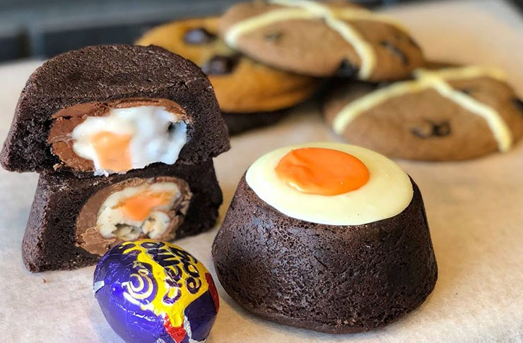 Moustache Has Crème Egg Cookies And We Can't Even